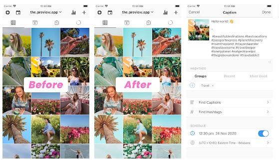 app para feed de instagram