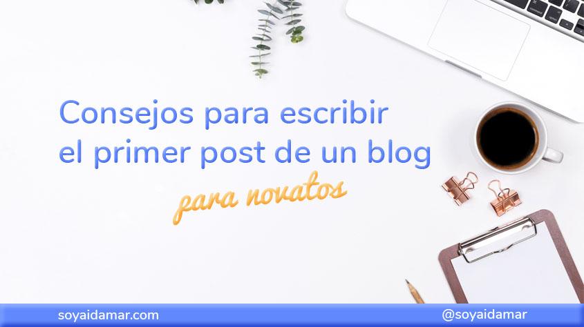primer post de un blog
